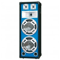 "Skytec Disco PA Speaker 2X 10"" 800W LED"