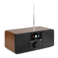 Audizio Rome Wi-Fi internetové stereo DAB+ rádio Hnědá