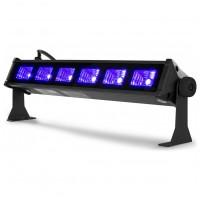 BeamZ BUV63 UV BAR světelná lišta, 6x3W UV LED