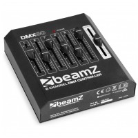 BeamZ DMX-60 kontrolér, 6-kanálový