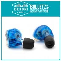 DEKONI AUDIO Memory Foam 4.9mm Ear Tip 1 Pair - Mercury series MEDIUM