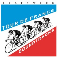 VINYL KRAFTWERK - TOUR DE FRANCE (TRANSPARENT BLUE/RED VINYL) / GB (2 LP)