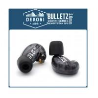 DEKONI AUDIO Memory Foam 3mm Ear Tip 1 Pair  MEDIUM