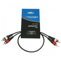Accu-Cable AC-R/0,5 RCA Cable 0,5 m