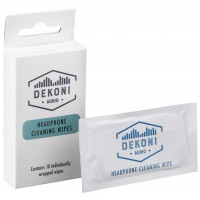 DEKONI AUDIO Headphone Wipes 10 Pack