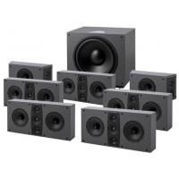 Jamo D 600 HCS 7.1 Black/Stone gray
