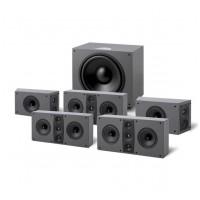 Jamo D 600 HCS 5.1 Black/Stone gray