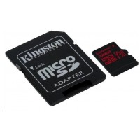Kingston 32GB Canvas React UHS-I microSDHC Memory Card w SD Adapter