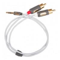 SUPRA  MP-2RCA Cable 1,0m