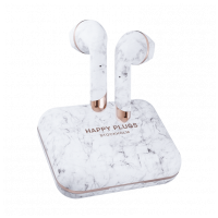 Happy Plugs AIR 1 Plus Earbud White Marble