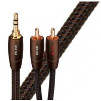 Audioquest Big Sur JR audio kabel 1 x 3,5 mm samec -2 x RCA 1.5m