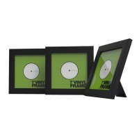 "Glorious Vinyl Frame Set 7"" black"