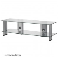 Sonorous PL 3150 C-SLV – čiré sklo / stříbrné nohy