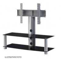 Sonorous PL 2300  B-SLV - čierne sklo / strieborné nohy