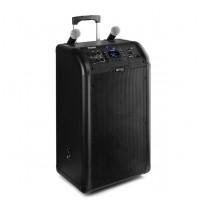 "Power Dynamics PA300 Portable 2 X 8"" Sound System SD/USB/MP3/BT"