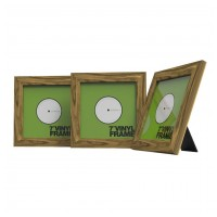 "Glorious Vinyl Frame Set 7"" Rosewood"