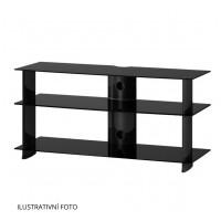 Sonorous PL 3100  B-BLK - čierne sklo / čierne nohy