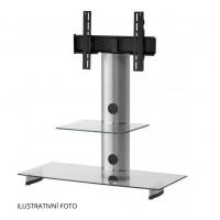 Sonorous PL 2200  C-SLV - číre sklo / strieborné nohy