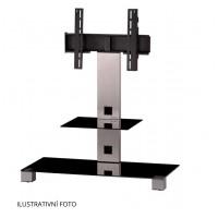 Sonorous PL 2500  B-INX - čierne sklo / nohy nerez (hliník)
