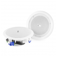 Power Dynamics CSBT65 Amplified Ceiling Speaker Set With BT