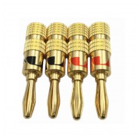 Nakamichi Banana Plugs N0534 Gold