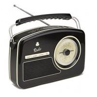 GPO Retro RYDELL NOSTALGIC DAB RADIO BLACK