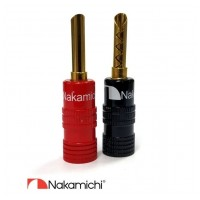 Nakamichi Banana Plugs N0534C - Colors Limited Edition
