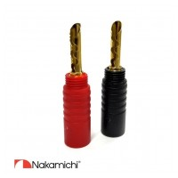 Nakamichi Banana Plugs N0532E