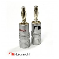 Nakamichi Banana Plugs N0534B - Beryllium Limited Edition