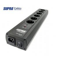 SUPRA  SUPRA MAINS BLOCK MD06-EU/SP SPC BLACK SWITCH - Silver Edition