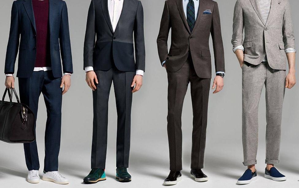 Takım Elbise İle Sneaker Giyme Rehberi