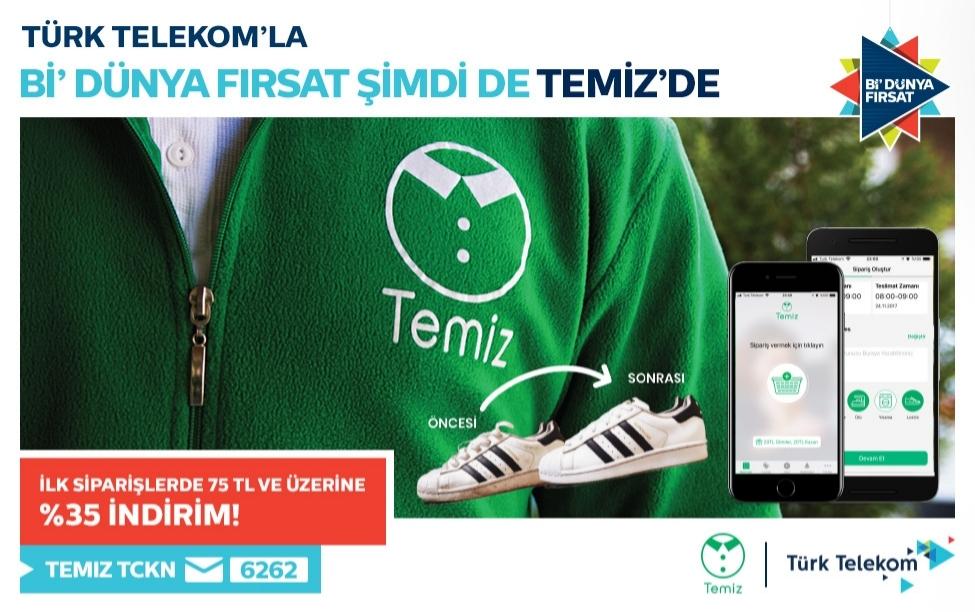 Türk Telekom Müşterilerine %35 İndirim!