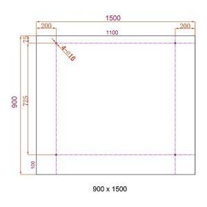 Home-Deluxe-Glasvordach-Verbundsicherheitsglas-VSG-Verschiedene-Gren-V2A-rostfreies-Edelstahlzubehr-0-5