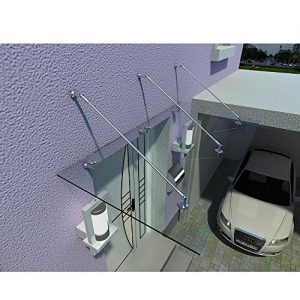 Home-Deluxe-Glasvordach-Verbundsicherheitsglas-VSG-verschiedene-Gren-V2A-rostfreies-Edelstahlzubehr-250x90cm-0
