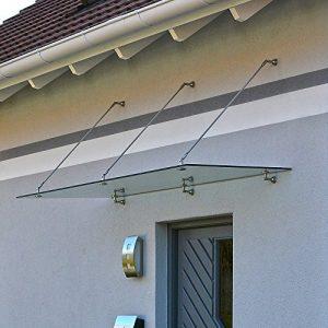 Home-Deluxe-Glasvordach-Verbundsicherheitsglas-VSG-verschiedene-Gren-V2A-rostfreies-Edelstahlzubehr-300x90cm-0