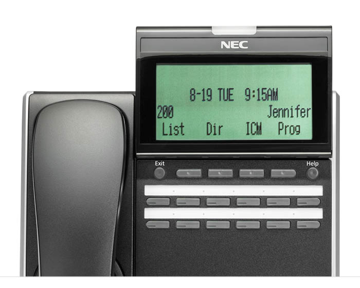 DT830 IP Desktop Phones - NEC Enterprise Solutions