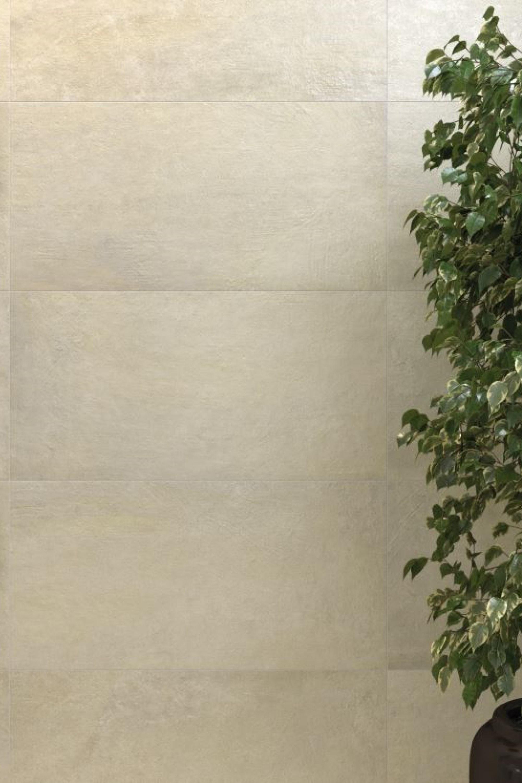 Zandkleur betonlook wantegels
