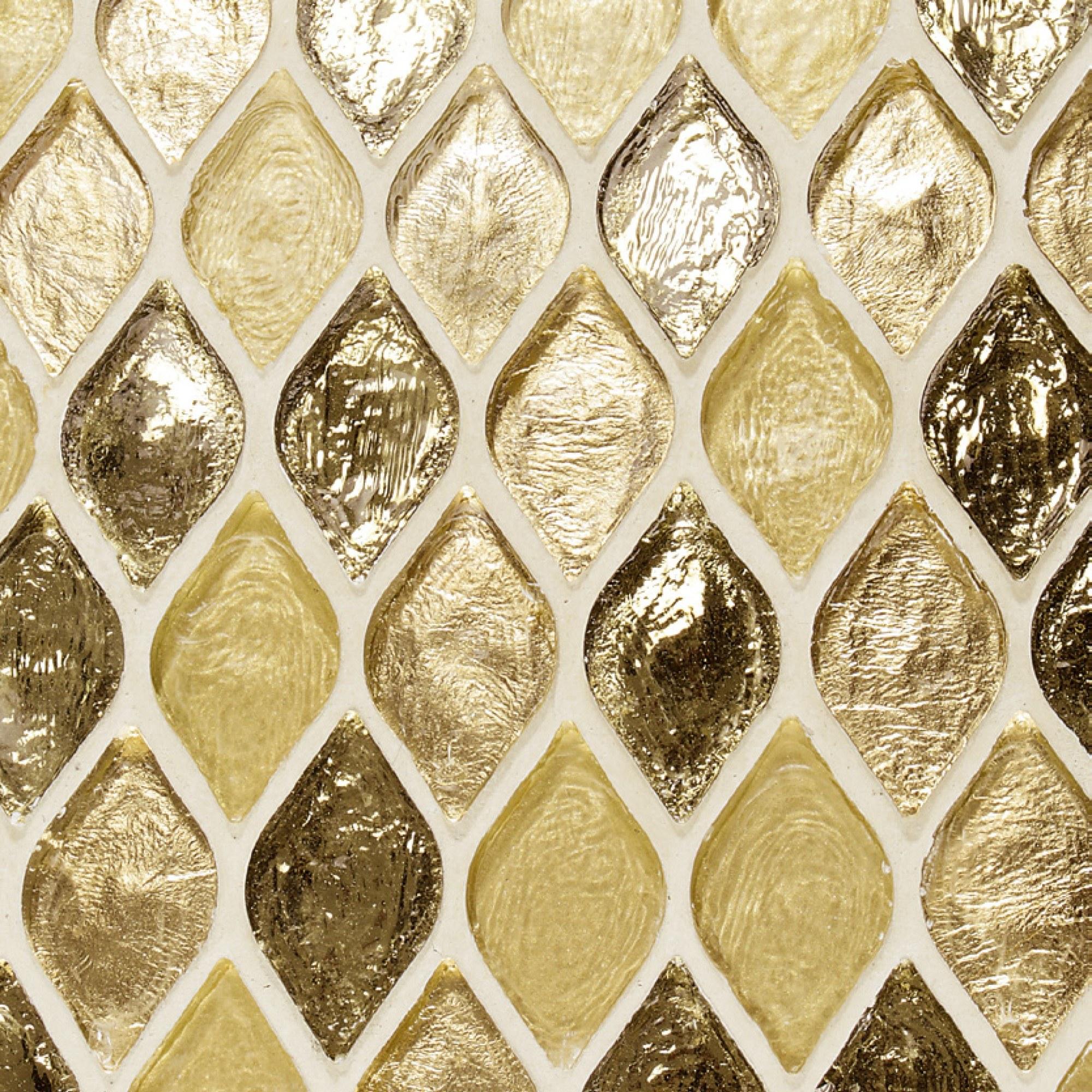 Marokkaanse gouden wandtegels