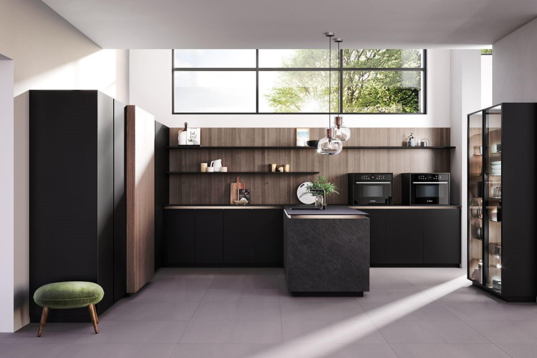 Luxe moderne greeploze keuken