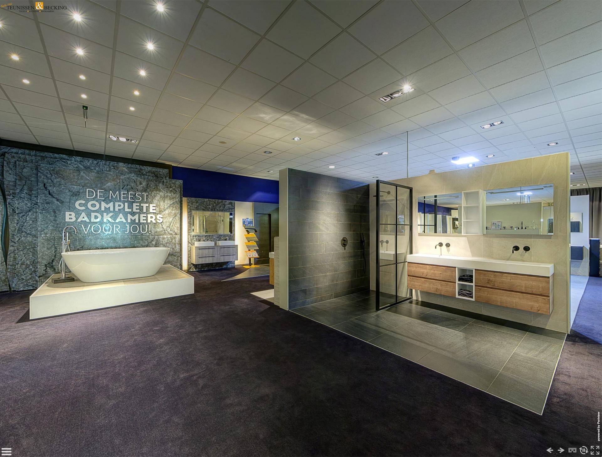 Periview Showroom Badkamer showroom