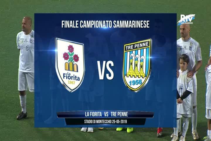 Finale Campionato: Tre Penne - La Fiorita 3-1 dts