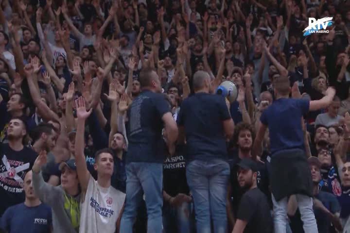 Fortitudo Bologna - Carpegna Prosciutto Basket Pesaro 77-80