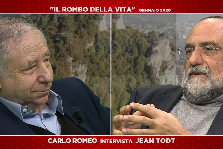 Il rombo della vita - Carlo Romeo intervista Jean Todt - 31/01/2020
