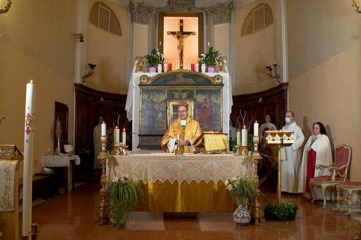 Santa messa di domenica 24 maggio