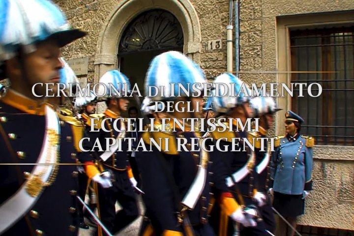Cerimonia di insediamento degli Ecc.mi Capitani Reggenti - 1° aprile 2021