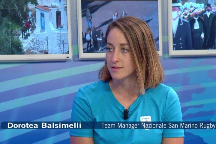 12 minuti con...Dorotea Balsimelli