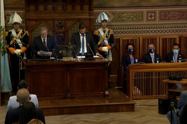 TG Speciale: La Delegazione Olimpica Sammarinese in udienza della Reggenza