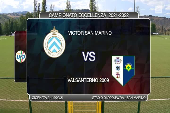 Victor San Marino - Valsanterno 1-1