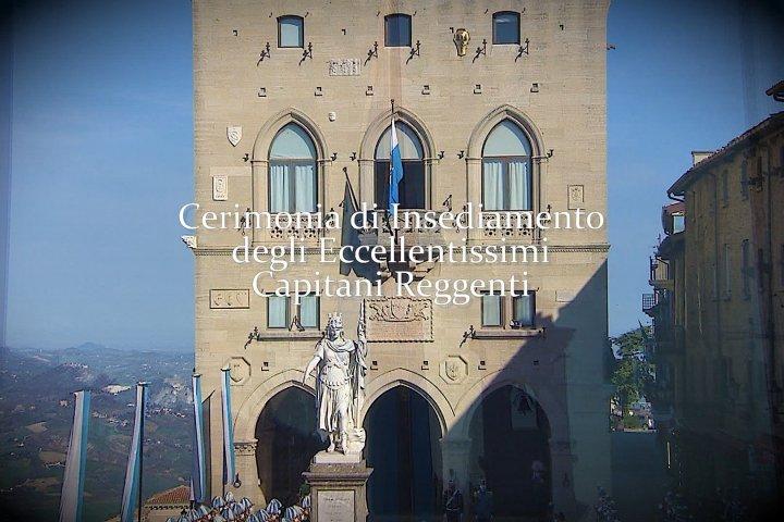 Cerimonia di insediamento degli Ecc.mi Capitani Reggenti - 1° ottobre 2021