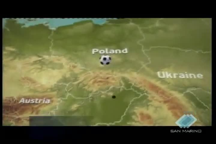 Le Mascotte ufficiali dei prossimi Europei del 2012 sono state presentate a Varsavia